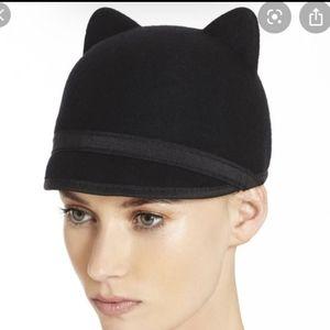 Bcbg wool cat ear hat Tan